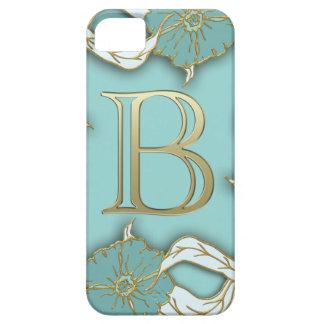 alphabet b monogram iPhone 5 case