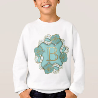 alphabet b monogram sweatshirt