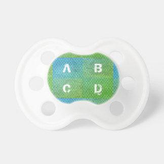 Alphabet Baby Pacifier