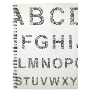 Alphabet business notebooks