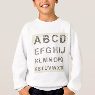 Alphabet business sweatshirt