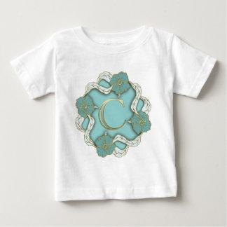 alphabet c  monogram baby T-Shirt