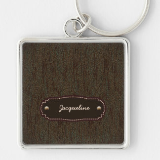 Alphabet Character Letters Backgound Pattern Key Chain