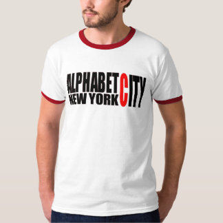Alphabet City District - New York City T-Shirt