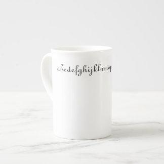 Alphabet Coffee Cup
