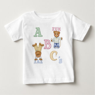 Alphabet Fun Teddy Bears Baby T-Shirt