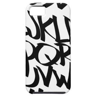 alphabet graffiti case for the iPhone 5