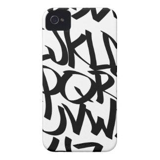 alphabet graffiti iPhone 4 cases