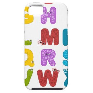alphabet iPhone 5 case