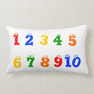 Alphabet & Numbers 1-10 Pillow
