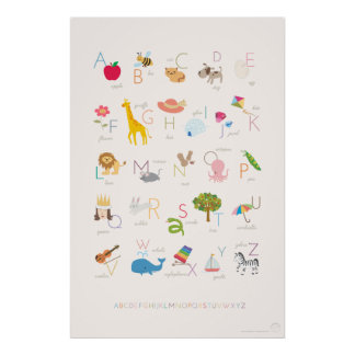Browse our Collection of Alphabet Posters.