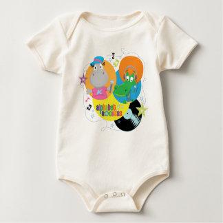Alphabet Rockers Baby Bodysuit