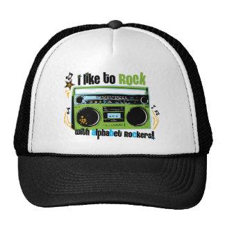 "Alphabet Rockers ""I Like To Rock"" Hats"