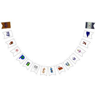 Alphabet(Yolŋu Matha-Djambarrpuyŋu)Nh-' (part 2/2) Bunting Flags