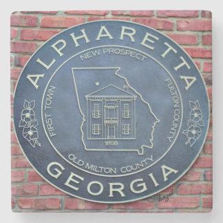 Alpharetta, Georgia, Marble Coasters