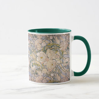 Alphones ( Alfons ) Mucha ~ Flowers Mug