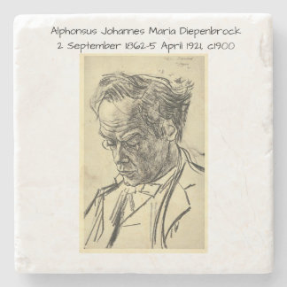 Alphons Johannes Maria Diepenbrock 1900 Stone Coaster