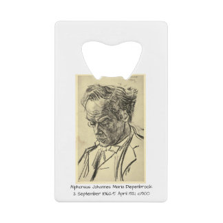Alphons Johannes Maria Diepenbrock 1900 Wallet Bottle Opener