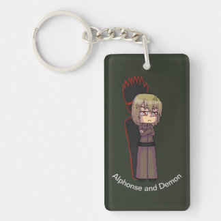 Alphonse and Demon Key Chain