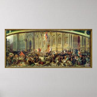 Alphonse de Lamartine Poster