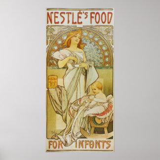 Alphonse Mucha.Advertising Poster, 1898 Poster