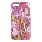Alphonse Mucha Amethyst Floral Vintage Art Nouveau iPhone 8/7 Case