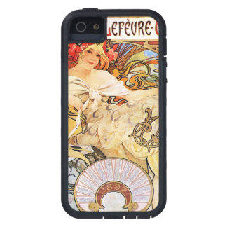 Alphonse Mucha Biscuits Lefevre-Utile iPhone 5 Cover