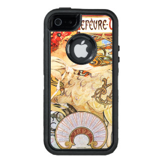 Alphonse Mucha Biscuits Lefevre-Utile OtterBox Defender iPhone Case