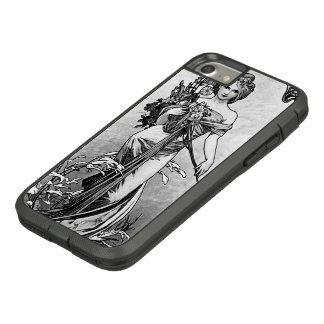 Alphonse Mucha Broken Blossoms Case-Mate Tough Extreme iPhone 8/7 Case