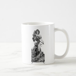 Alphonse Mucha Broken Blossoms Coffee Mug