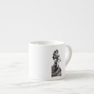 Alphonse Mucha Broken Blossoms Espresso Cup