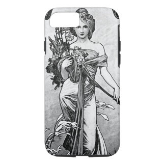 Alphonse Mucha Broken Blossoms iPhone 8/7 Case