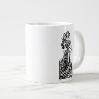 Alphonse Mucha Broken Blossoms Large Coffee Mug