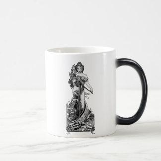 Alphonse Mucha Broken Blossoms Magic Mug