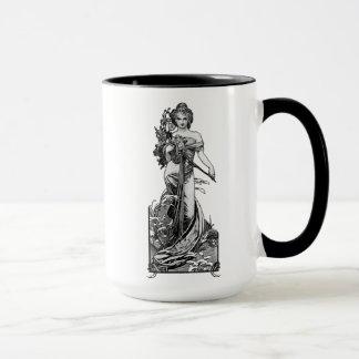 Alphonse Mucha Broken Blossoms Mug