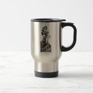 Alphonse Mucha Broken Blossoms Travel Mug