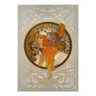 Alphonse Mucha ~ Byzantine Poster