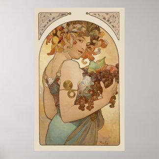 Alphonse Mucha CC0106 Poster