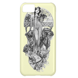 Alphonse Mucha-Choose color Case For iPhone 5C