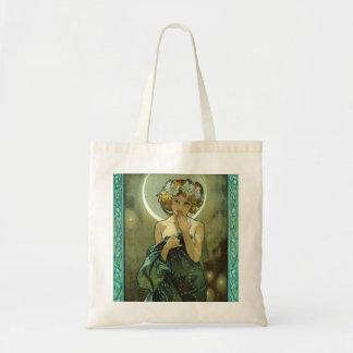 Alphonse Mucha Clair De Lune Tote Bag