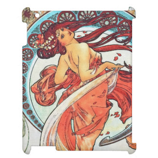 Alphonse Mucha Dance Vintage Art Nouveau Painting Cover For The iPad