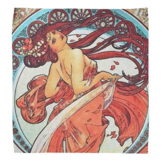 Alphonse Mucha Dance Vintage Art Nouveau Painting Do-rags