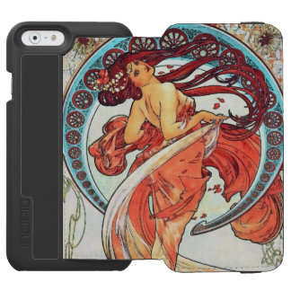 Alphonse Mucha Dance Vintage Art Nouveau Painting Incipio Watson™ iPhone 6 Wallet Case