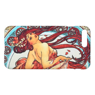 Alphonse Mucha Dance Vintage Art Nouveau Painting iPhone 7 Plus Case