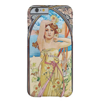 Alphonse Mucha Daybreak Art Nouveau Barely There iPhone 6 Case