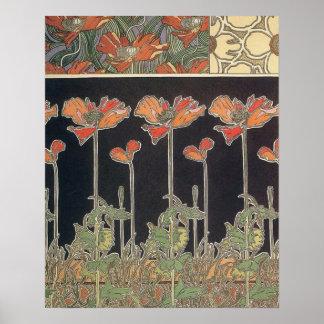 Alphonse Mucha Documents Décoratifs GalleryHD Poster