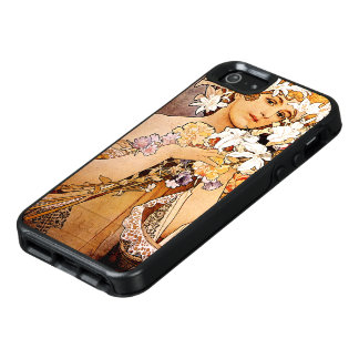 Alphonse Mucha Flower OtterBox iPhone 5/5s/SE Case