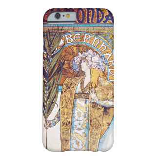 Alphonse Mucha Gismonda Art Nouveau Theater Barely There iPhone 6 Case