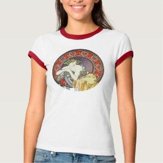 Alphonse Mucha Goddess T Shirts