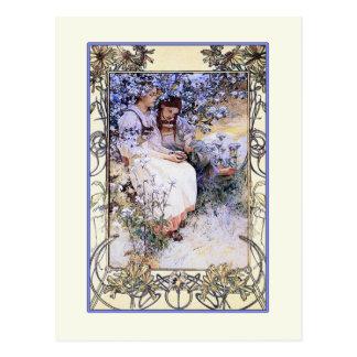 Alphonse Mucha illustration: The Beatitudes Postcard